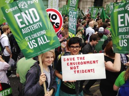End Austerity Now demo June 2015