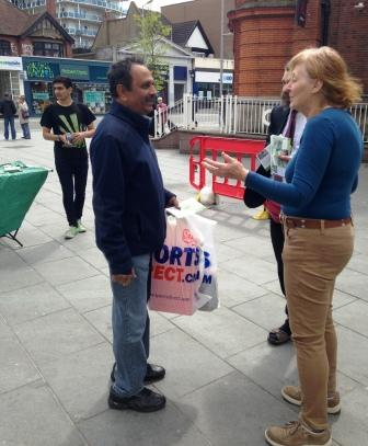 Harrow Greens Campaigning